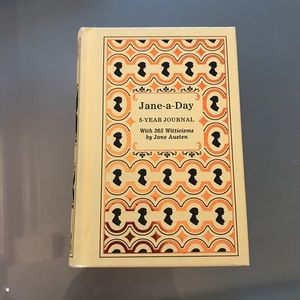 Jane - a - Day 5 year Journal